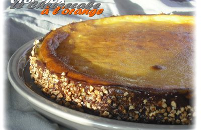 CHEESECAKE A L'ORANGE