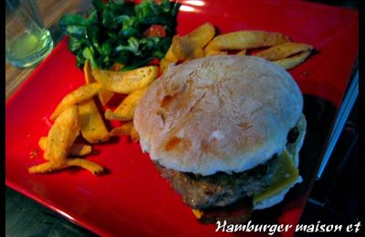Pain bun à hamburger