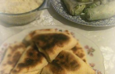 cheese naan facon chausson