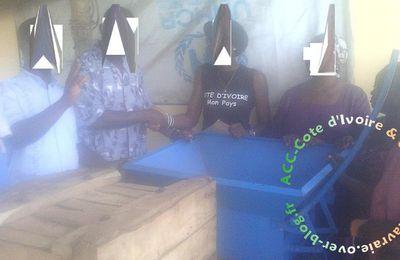 COMPTE RENDU ACTION ACC-Côte d'Ivoire EN FAVEUR DES REFUGIES IVOIRIENS DU CAMP DE AMPAIN