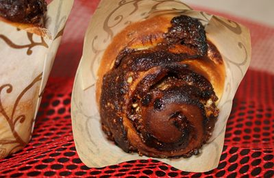 ESCARGOTS NUTELLA ET PRALIN