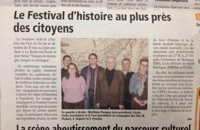 Le 3e Festival dans la presse...