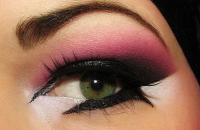 Augenmake-ups in Pink ♥