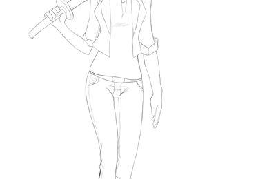 La fille au sabre en bois 2