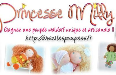 Une poupée Waldorf princesse Milly a Gagner