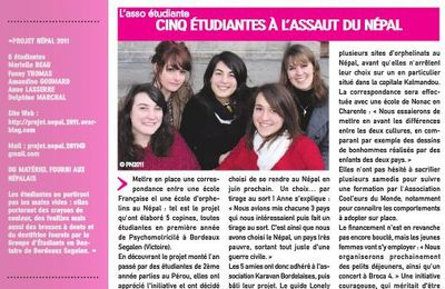 Article dans l'Amphi Bordelais