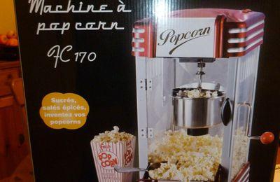 Ma nouvelle machine à pop corn