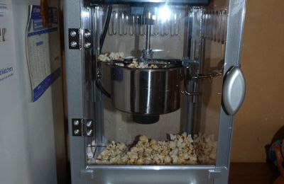 Ma nouvelle machine à pop corn #2