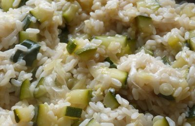 Risotto aux courgettes WW