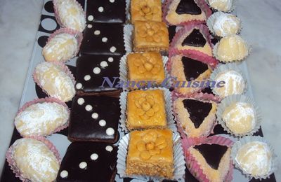 Les gâteaux de l'Aïd 2012.