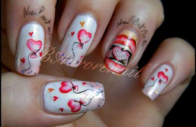 "Concours ""My Valentine Nails"""