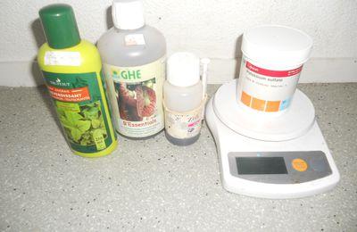 Fertilisation liquide - expérience en cours