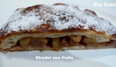 Strudel aux fruits ...