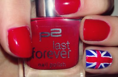 Union Jack Nails / British Flag