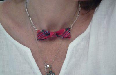 Diy : collier noeud écossais