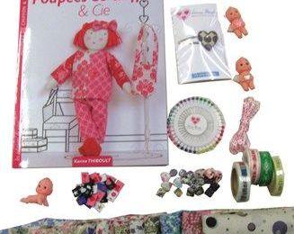 """Avec Linna Morata : à gagner mon livre """"poupées de chiffon & cie"""" et des tonnes de trucs !!"""