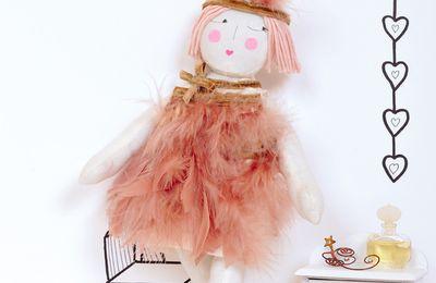 Diy: poupée de chiffon Joséphine