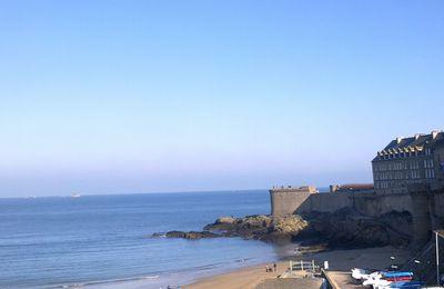 Dinan, Dinard, St Malo...non je n'ai pas plongé dans l'eau