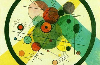 cercles à la manière de Kandisky