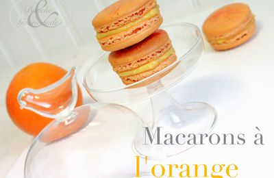 MACARONS A L'ORANGE