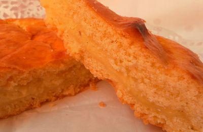 Gâteau Basque à la crème pâtissière حلوة الباسك بالكريمة