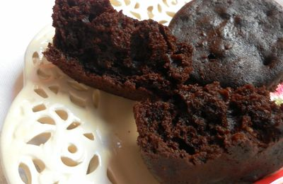 Muffins au chocolat مافن بالشكلاط