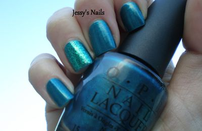 OPI-Yodel Me On My Cell (Swiss Collection) avec son Accent Nail