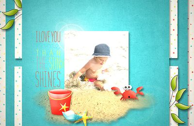 "Kit ""Summertime"" de Laurence Design"