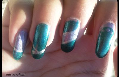 Nail art Duochrome
