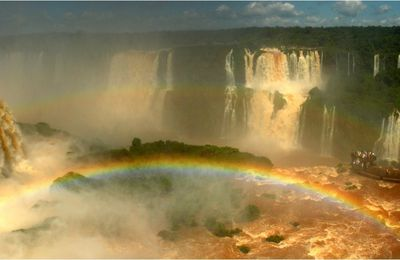 BRAZIL: Iguaçu Falls, the big water!