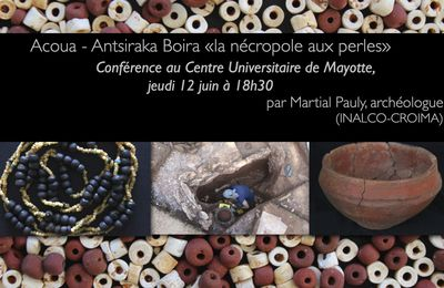 Centre universitaire de Mayotte, conférence le 12 juin 2014