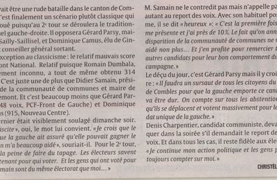 Article Courrier Picard du 22 mars 2011