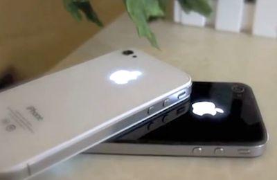 Rendre lumineux le logo Apple de son iPhone 4 et 4S