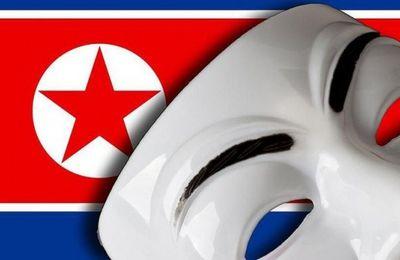 Anonymous pirate des comptes officiels de la Corée du Nord