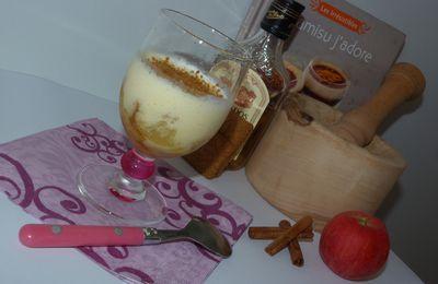 Tiramisu aux speculots et aux pommes fondantes