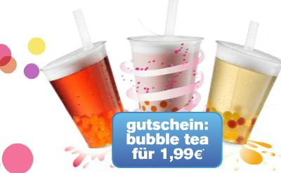 Bubble Tea bei Mc Donald's