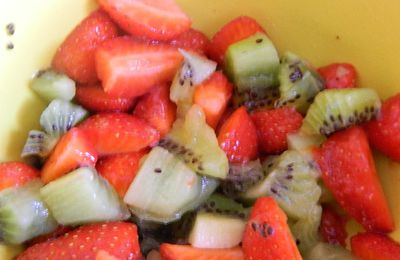 salade de fruits ...