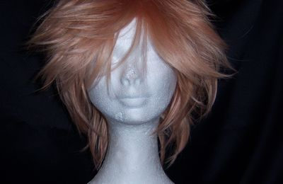 ~Wig~ Pêche (rose & blond)