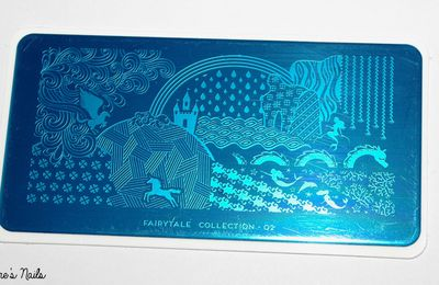 The Mermaid on the rock - MoYou London Stamping