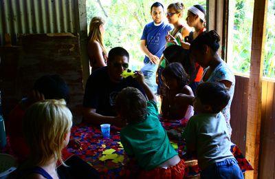 un día en en centro cultural de Caraguata