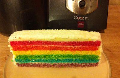 Rainbow Cake Coco