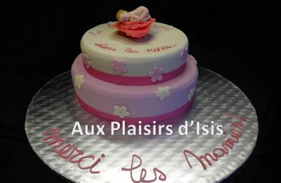 le gâteau bébé girly