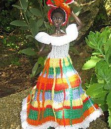 Une demoiselle des Antilles