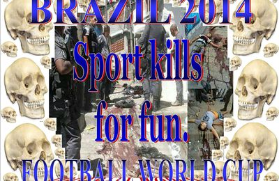 Brazil kills the human rights for sport.