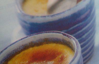 Crèmes au thé au jasmin