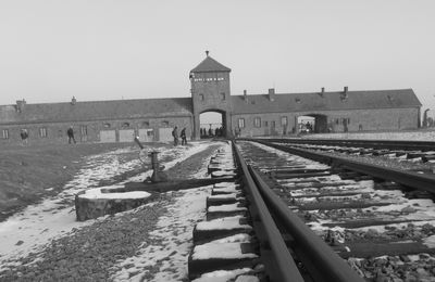 « Un train à la mémoire d'Auschwitz »