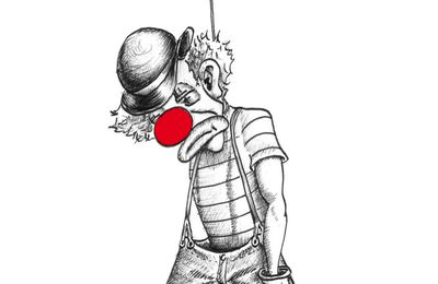 Suicide clown