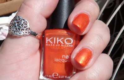 Kiko n°235 - Pearly Orange