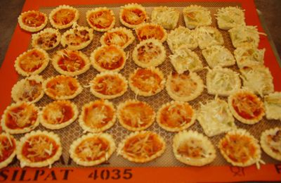 MINI-TARTELETTES APERITIVES