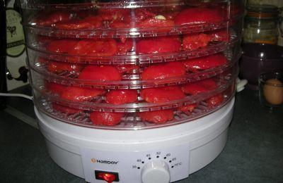 Roulés de poulet aux tomates séchées